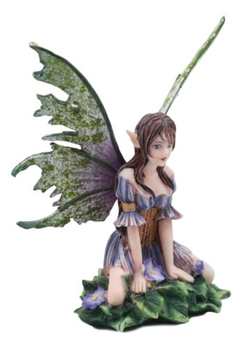 "Ebros Amy Brown Whimsical ""Viola"" Violet Flower Garden Fairy Figurine Fae Statue"