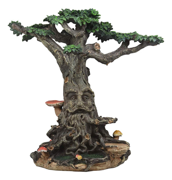 Ebros Gift Enchanted Whispering Forest Fairy Garden Fantasy Ent Greeman Spirit Tree House Display Statue for Mini Fairies Do It Yourself Decor Ideas Accessories Collection