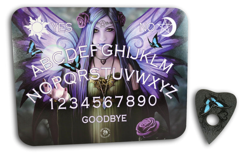 Anne Stokes Mystic Aura Fairy Paranormal Ouija Spirit Board Game With Planchette
