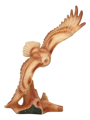 American Pride Wildlife Nature Aerial King Of The Sky Soaring Bald Eagle Statue