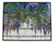 Louis Comfort Tiffany Wisteria Blossoms Stained Glass Wall Or Desktop Plaque