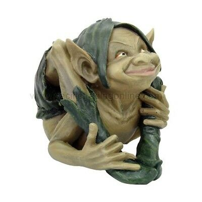 Ebros 7.5 Inch Height Playful Garden Goblin Gymnastic Elf Statue Figurine