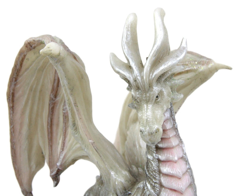 "Ebros Fantasy Battle of Thrones Aged Wraith Hydra Wise Old Dragon 8"" Tall Figurine"