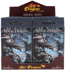 Rock Dragon Fragranced Incense Cones Pack of 12 by Anne Stokes Yoga Meditation