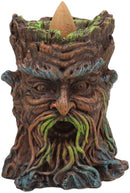 "Ebros Cernunnos Greenman Ent Backflow Incense Cone Burner Statue 3.25"" H Decor"