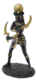 Egyptian Sun Goddess Sekhmet With Sickle Statue Warrior Huntress Lioness Healer