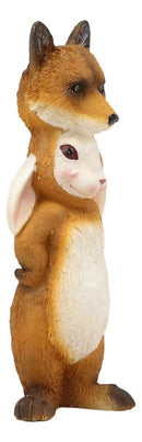 "Ebros Dupers Collection Brer Rabbit in Fox Costume Statue 5.75"" Tall Crafty Hare Animal Decor Figurine Remus Fairy Tale Collectible"