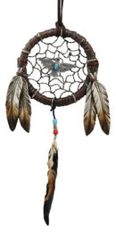 Native Indian Turquoise Raven Ring Dreamcatcher Wall Hanging Decor Dream Catcher