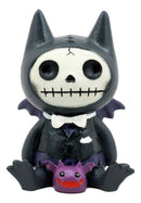 Ebros Larger Furry Bones Count Dracula Vampire Flappy Skeleton Monster Figurine