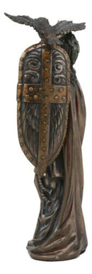 Ebros Greek Goddess Athena Wearing Helmet With Spear Aegis Shield And Owl Statue Decor