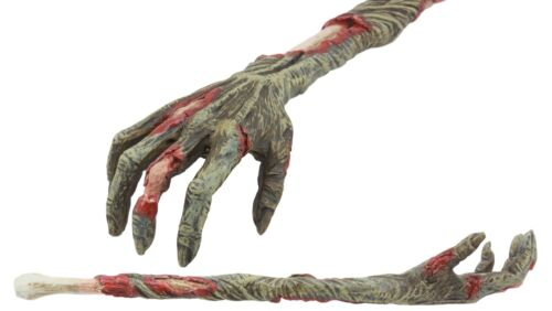 "Ebros Gory Zombie Back Scratcher Figurine 15"" Long Zombie Walker Hand Arm Replica with Rotten Flesh and Bones Statue"