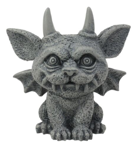 Ebros Gift Gothic Guardian Winged Feline Cat Vampire Gargoyle Desktop Paperweight Figurine 6 1//8 H Medieval Renaissance Cathedral Castle Rooftop Architecture Themed Statue