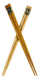 Reusable Bamboo Multi Tone Wooden Grain Colors Set of 5 Chopsticks Pairs In Box