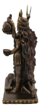 Hindu Goddess Of Time And Death Kali Bhavatārini Figurine Eastern Enlightenment