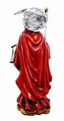 Ebros Red Robe Holy Death Santa Muerte Day of The Dead Figurine Symbol Of Love