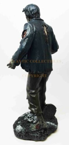 Ebros 10 Inch Zombie Man with Torn Clothes Resin Statue Figurine
