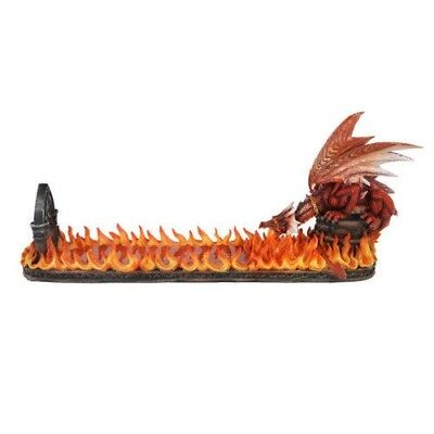 Ebros 15 Inch Fire Breathing Dragon Resin Incense Holder Statue Figurine