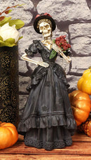 "Ebros Day of The Dead Lady Bride w/ Renaissance Black Steampunk Figurine 12.5""H"