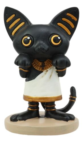 Weegyptians Collection Egyptian Goddess Bastet Statue Cat Feline Bast Deity