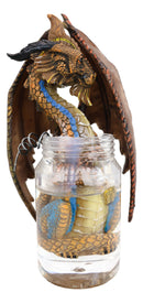 Cocktail Spirit Drunken Moonshine Liquor Dragon Statue Fantasy Decor Figurine