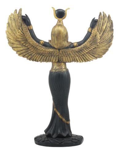 Ebros Egyptian Goddess Isis With Open Wings Statue Ancient Egypt Deity of Magic and Nature Iset Sculpture