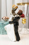 Love Never Dies Day Of The Dead Wedding Skeletons Groom Lifting Bride Figurine