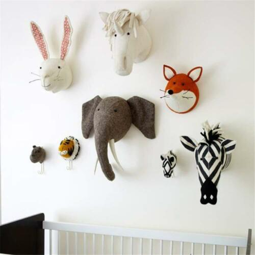 Ebros Fiona Walker England Handmade Organic Baby Animal Head Wall Decor The Originals Collection Large (Zebra Head)