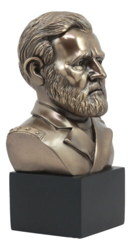 "United States Of America 18th President Ulysses Grant Bust Statue 8.75""H"
