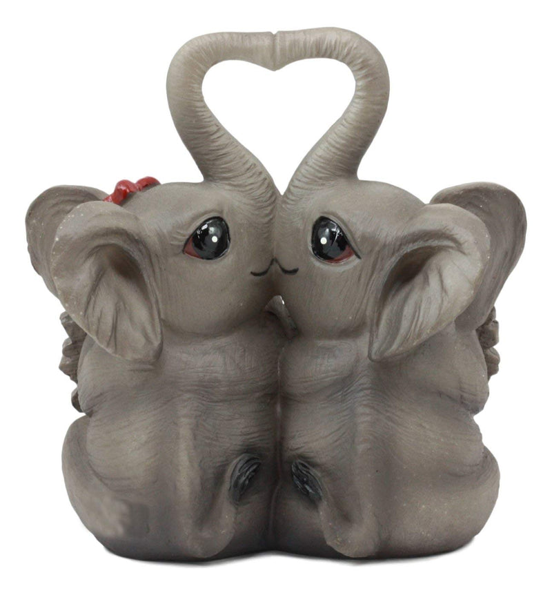 Ebros Together Forever Elephant Couple Lovers With Heart