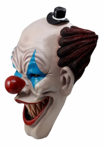 "It Killer Mannequin Clown Head Wall Decor Sculptural Hanging Plaque 15.5""Tall"