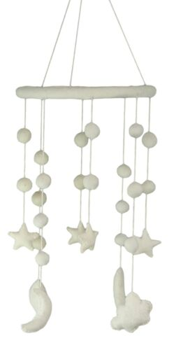 Ebros Fiona Walker England Starry Night Handmade Organic Nursery Mobile Baby