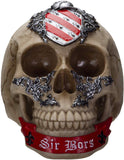 Ebros The Knights of The Round Table King Arthur Skulls Sir Bors Skull Figurine