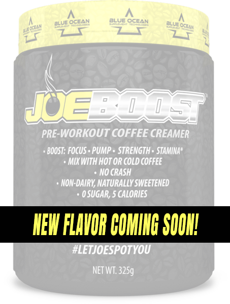 JoeBoost Pre-Workout Coffee Creamer - New Flavor Coming Soon