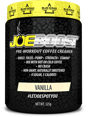 JoeBoost Pre-Workout Coffee Creamer Vanilla