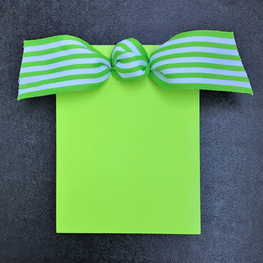 Lime Green w/Stripes