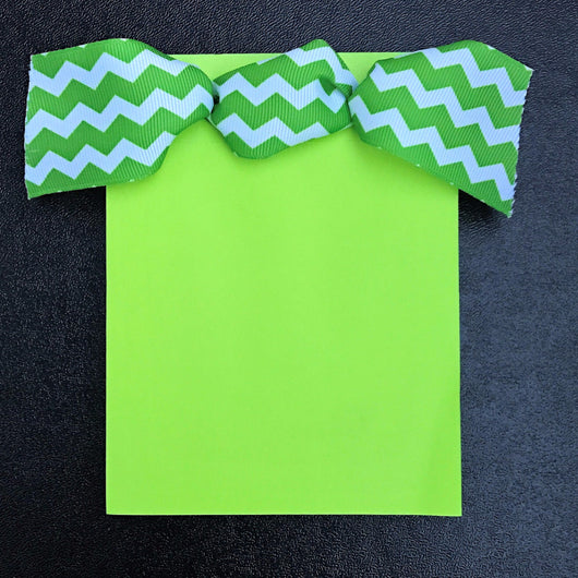 Lime Green w/Chevron