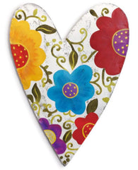 Floral Heart Door Hanger