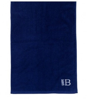 Navy Blue Golf Towel