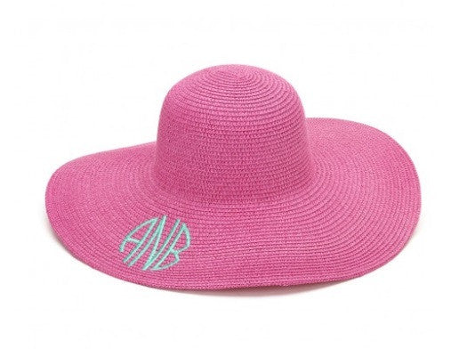 Hot Pink Adult Floppy Hat