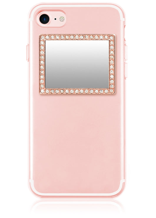 Phone Mirror - Rose Gold Rectangle