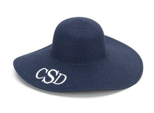 Navy Adult Floppy Hat