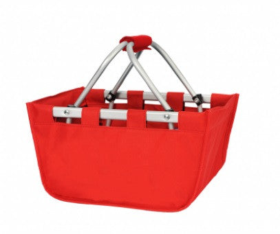 Red Mini Market Tote
