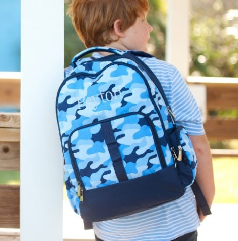 Cool Blue Camo Collection Backpack