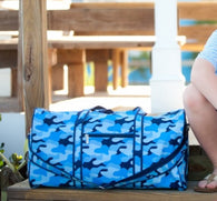 Cool Blue Camo Collection Duffel Bag