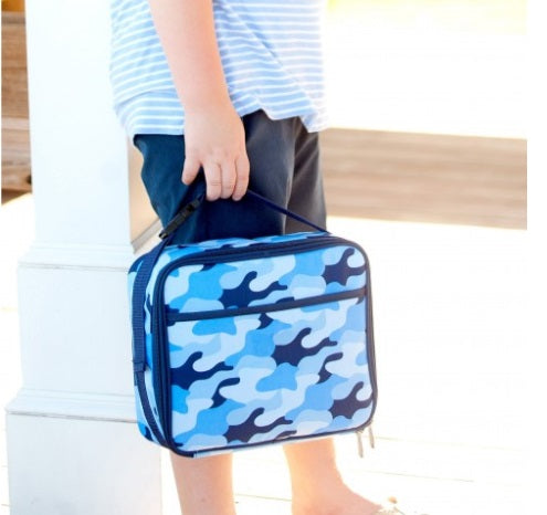 Cool Blue Camo Collection Lunch Box