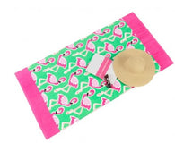 Flamingo Collection Beach Towel