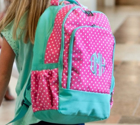 Pink Dottie Collection Backpack