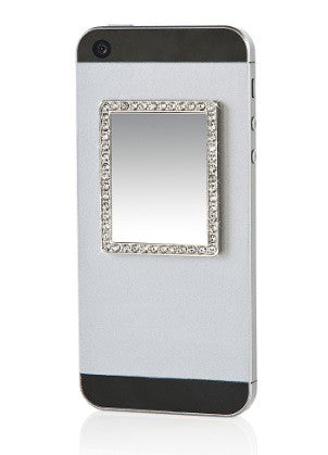 Phone Mirror - Silver Rectangle