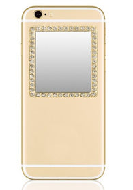 Phone Mirror - Gold Square