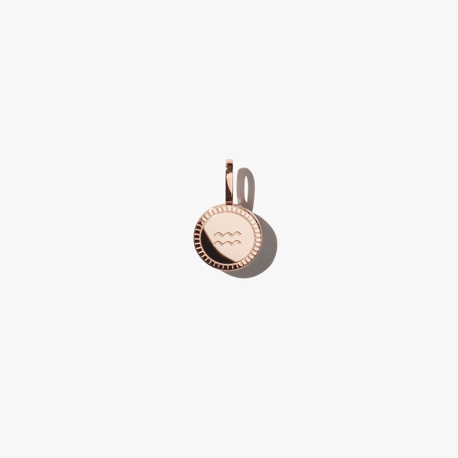 Aquarius Pendant - Rose Gold